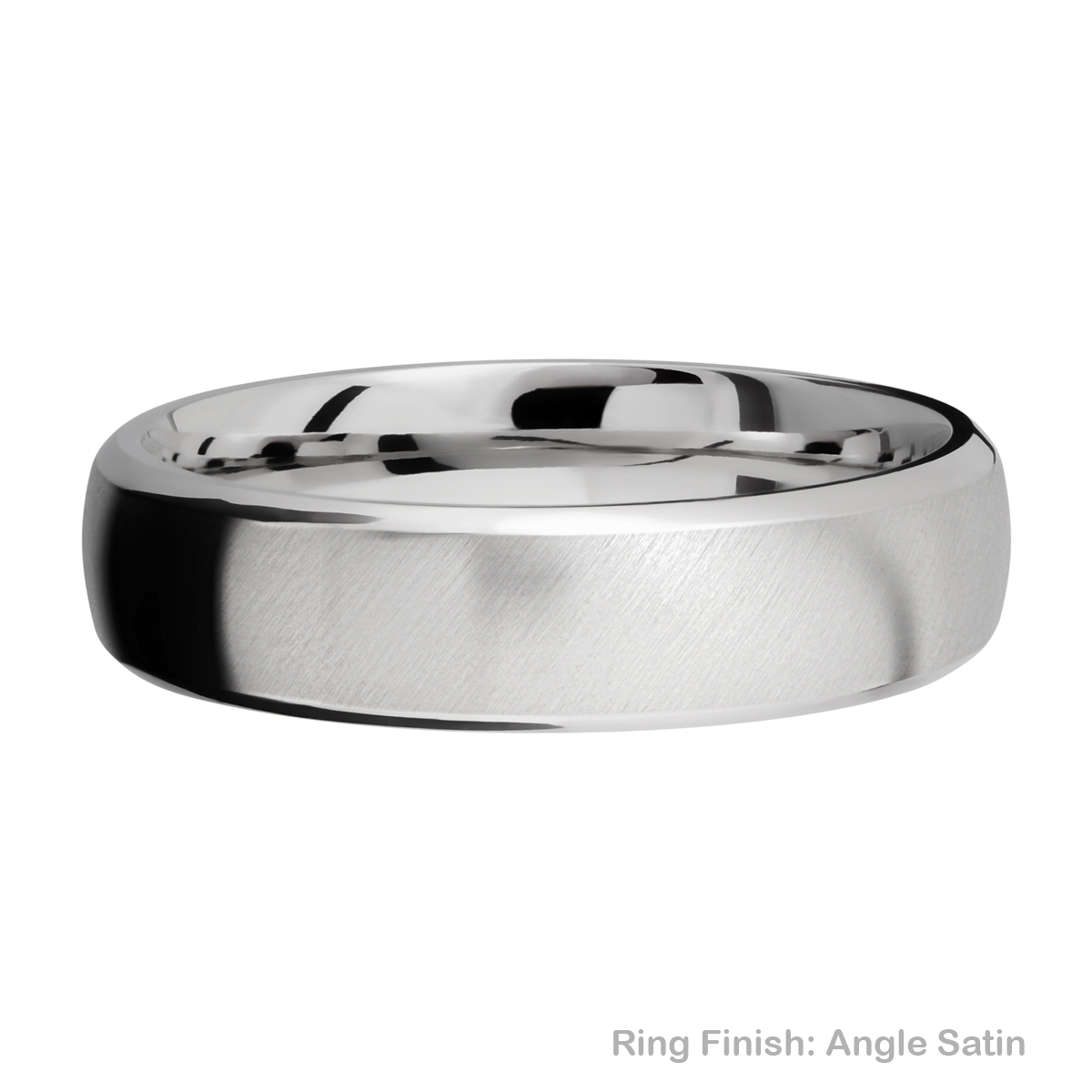 Lashbrook 6DB Titanium Wedding Ring or Band Alternative View 7