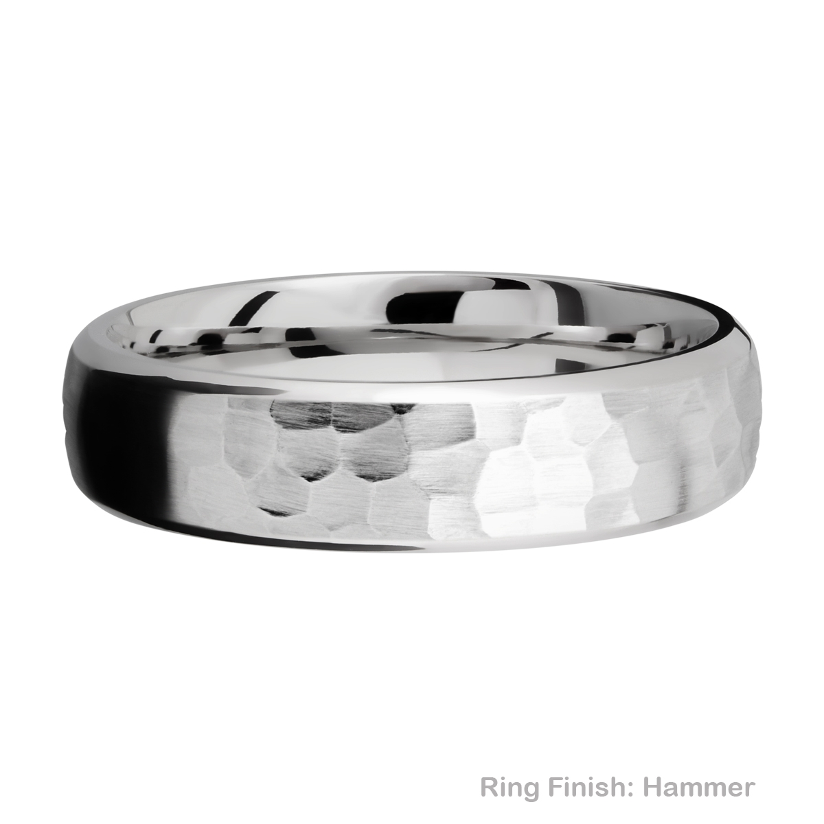 Lashbrook 6DB Titanium Wedding Ring or Band Alternative View 9