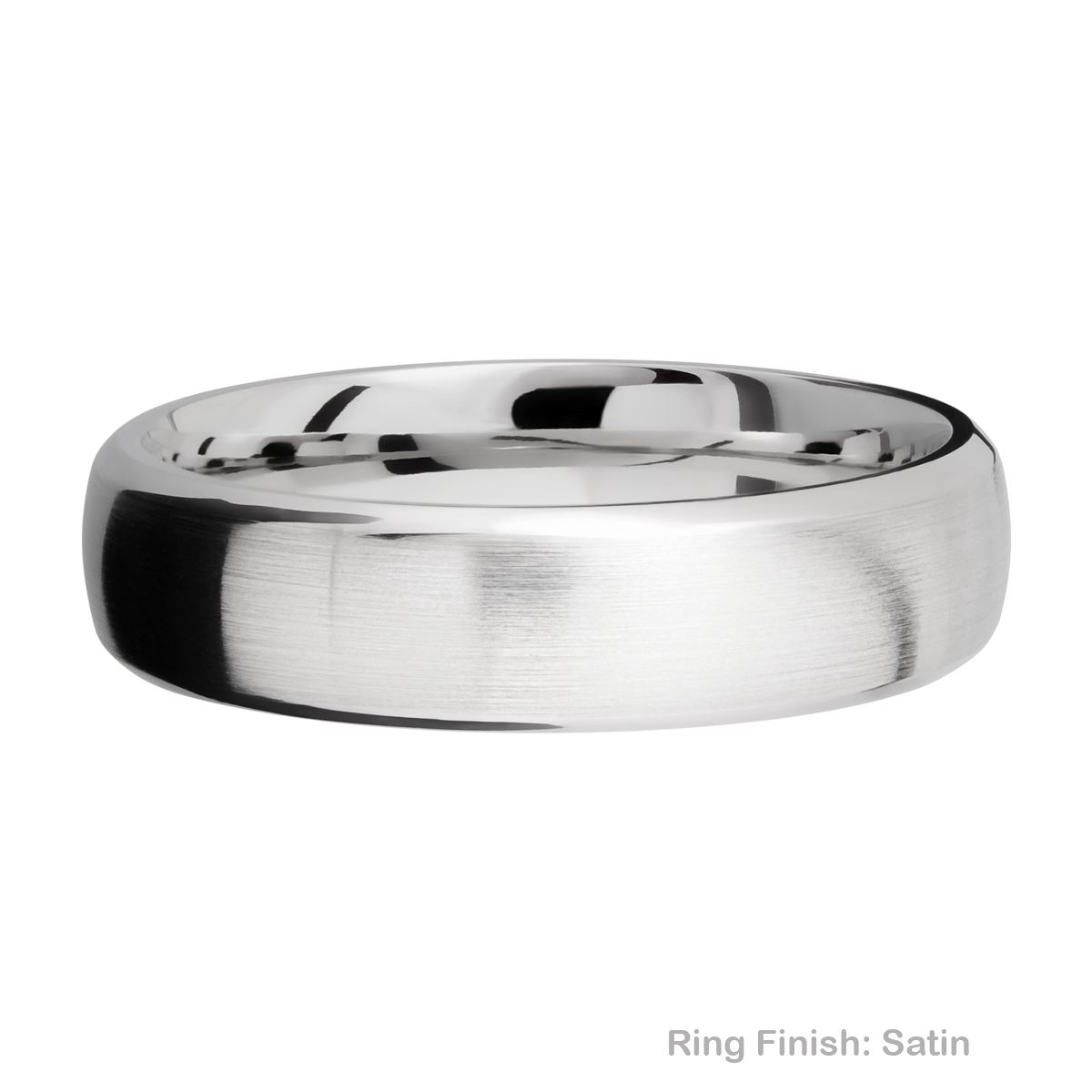 Lashbrook 6DB Titanium Wedding Ring or Band Alternative View 5