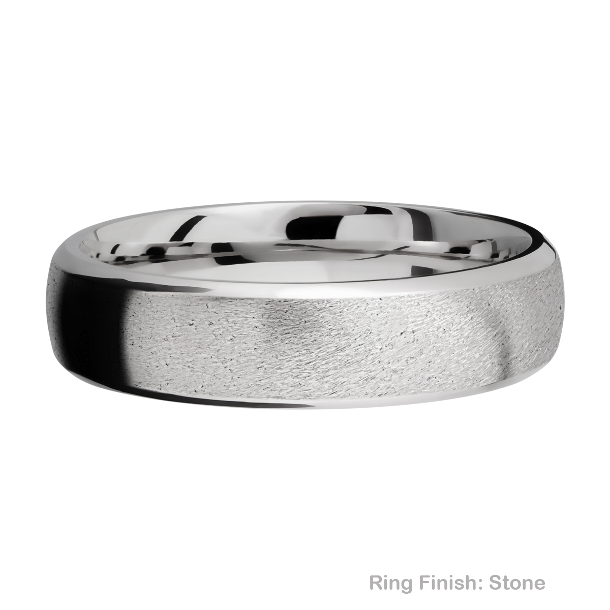 Lashbrook 6DB Titanium Wedding Ring or Band Alternative View 6