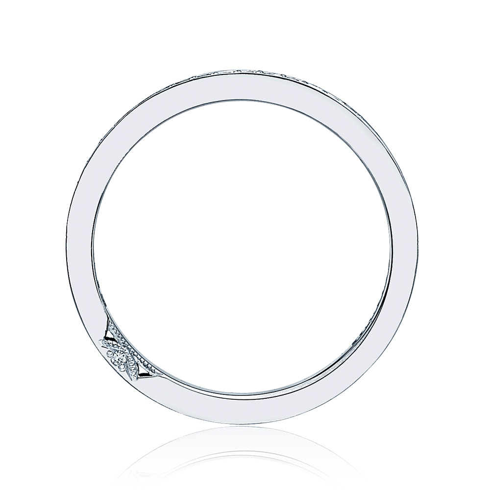 Tacori 2630BMDP12 18 Karat Dantela Diamond Wedding Band Alternative View 1