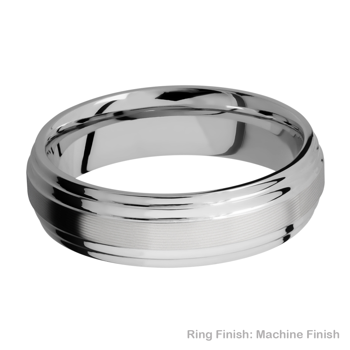Lashbrook 6F2S Titanium Wedding Ring or Band Alternative View 15