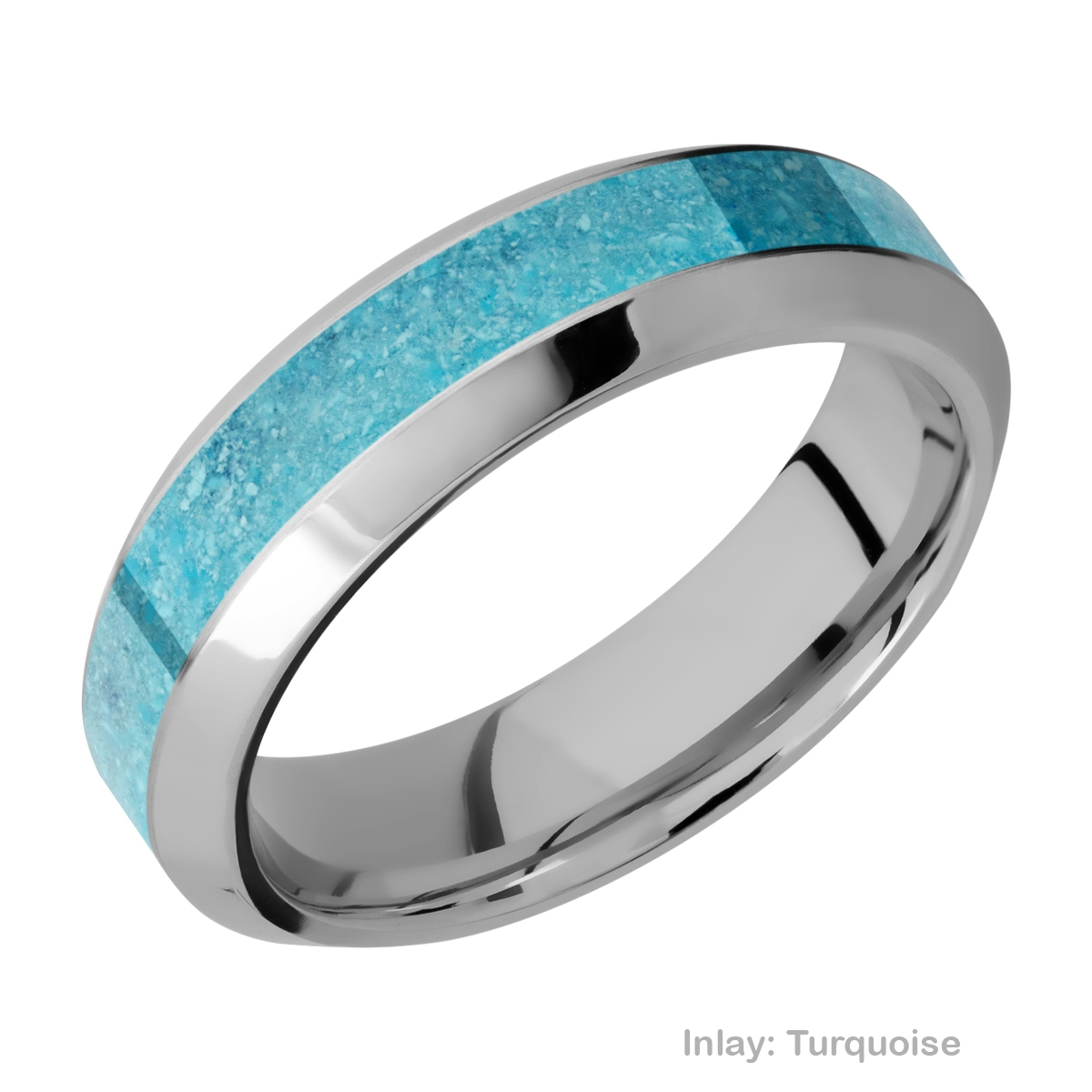 Lashbrook 6HB13/MOSAIC Titanium Wedding Ring or Band Alternative View 5