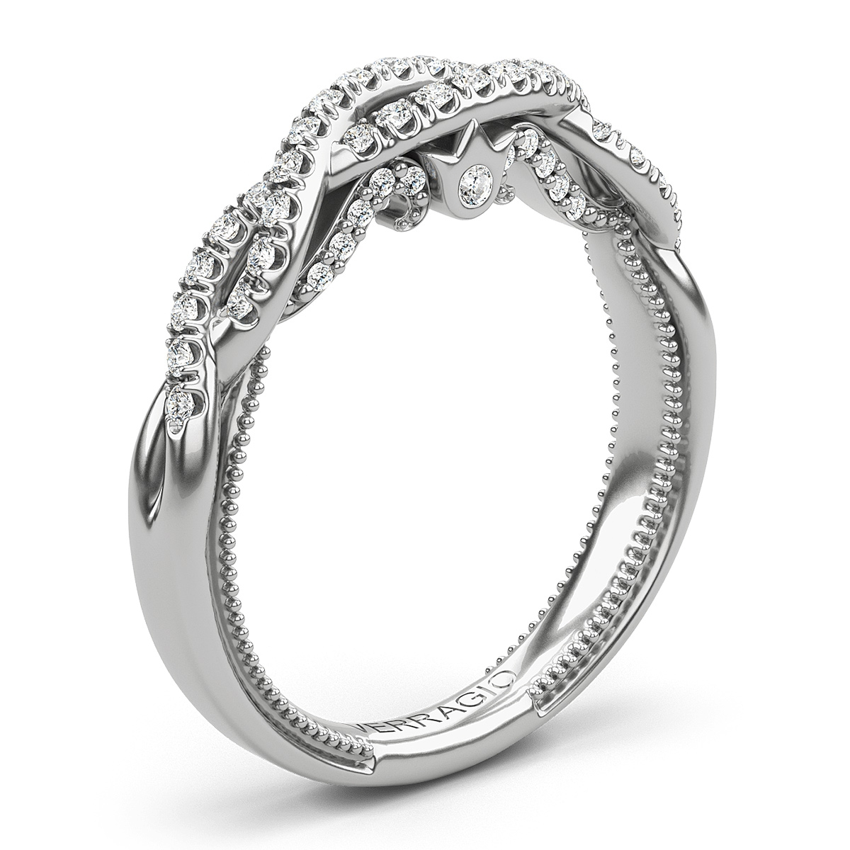 Verragio Insignia-7099W 14 Karat Wedding Ring / Band Alternative View 1
