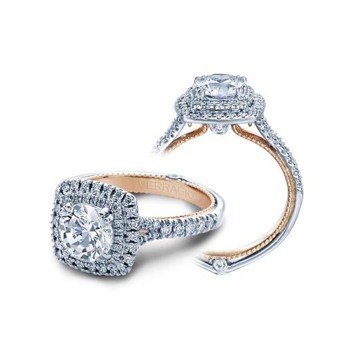 Verragio Couture-0425CU-TT 18 Karat Engagement Ring Alternative View 3