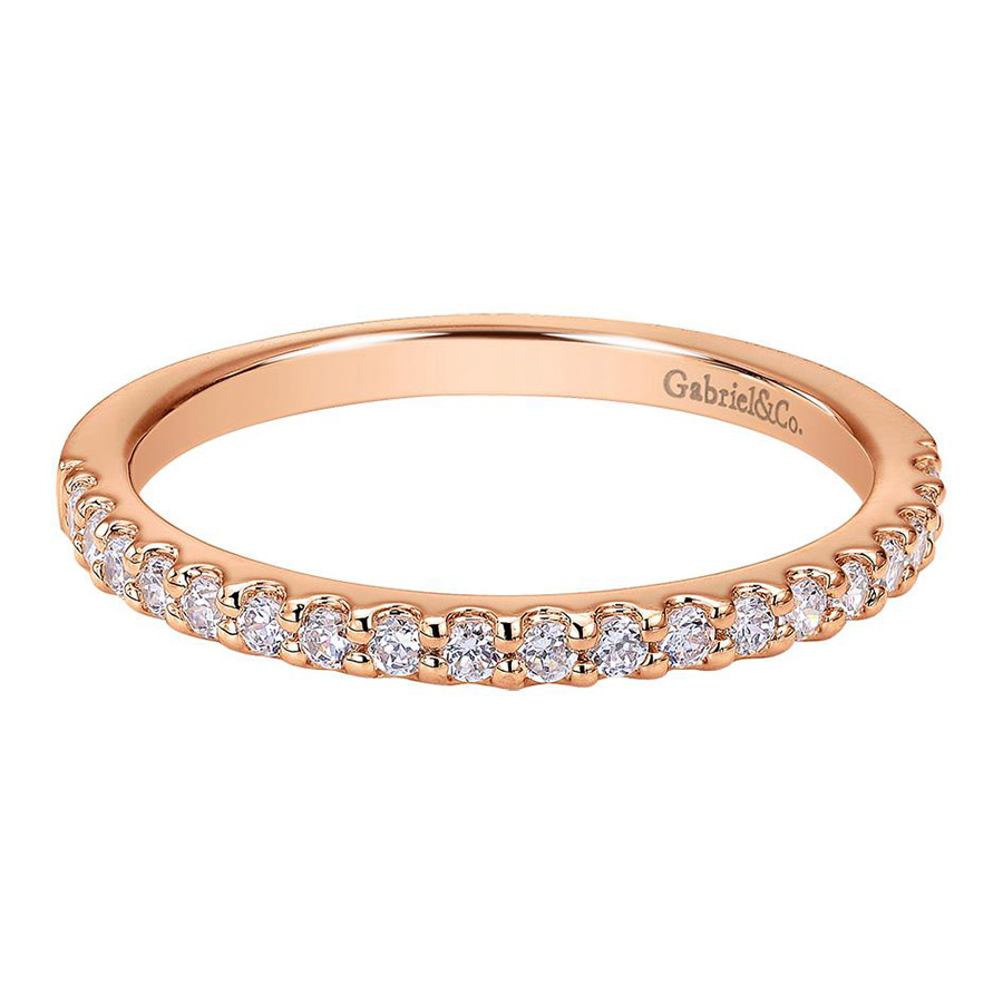 Gabriel 14 Karat Contemporary Wedding Band WB7510K44JJ