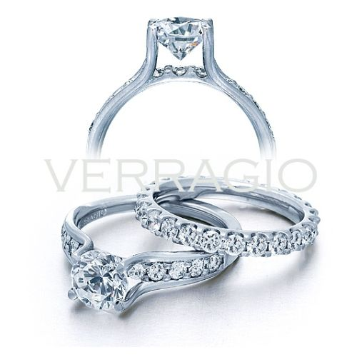 Verragio 18 Karat Couture Engagement Ring Couture-0352 Alternative View 3