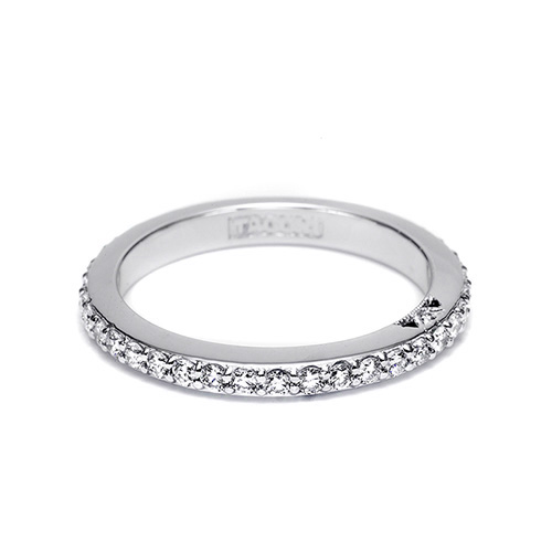 Tacori 18 Karat Simply Tacori Wedding Band 2630BLG