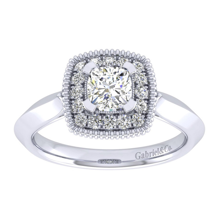 Gabriel 14 Karat Perfect Match Engagement Ring ER001B3AKW44JJ Alternative View 4