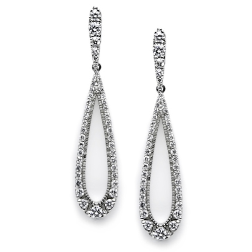 Tacori Diamond Earrings Platinum Fine Jewelry FE582