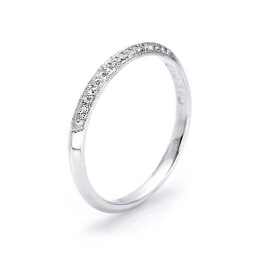 Tacori 2520 Platinum Wedding Band Alternative View 1