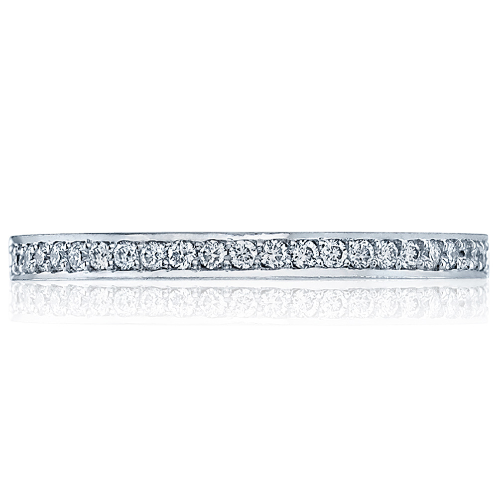 Tacori 2630BMDP12 18 Karat Dantela Diamond Wedding Band