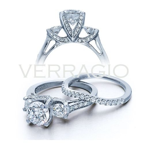 Verragio 18 Karat Classico Engagement Ring ENG-0288 Alternative View 1