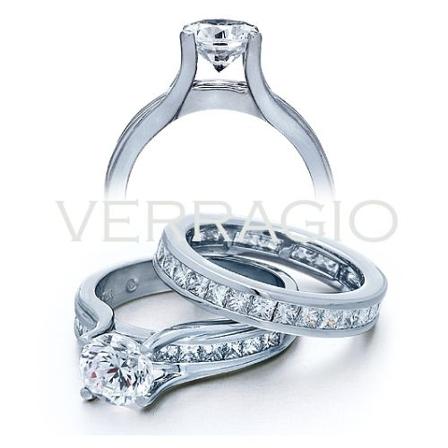 Verragio Platinum Classico Engagement Ring ENG-0069 P Alternative View 1