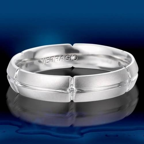 Verragio Palladium Diamond Wedding Band VWD-5906 Alternative View 1