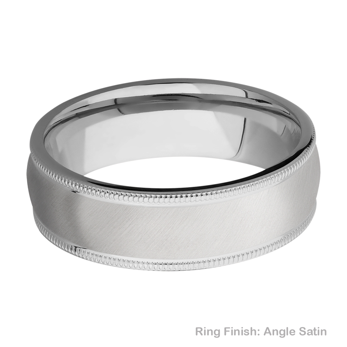 Lashbrook 7DMIL Titanium Wedding Ring or Band Alternative View 7