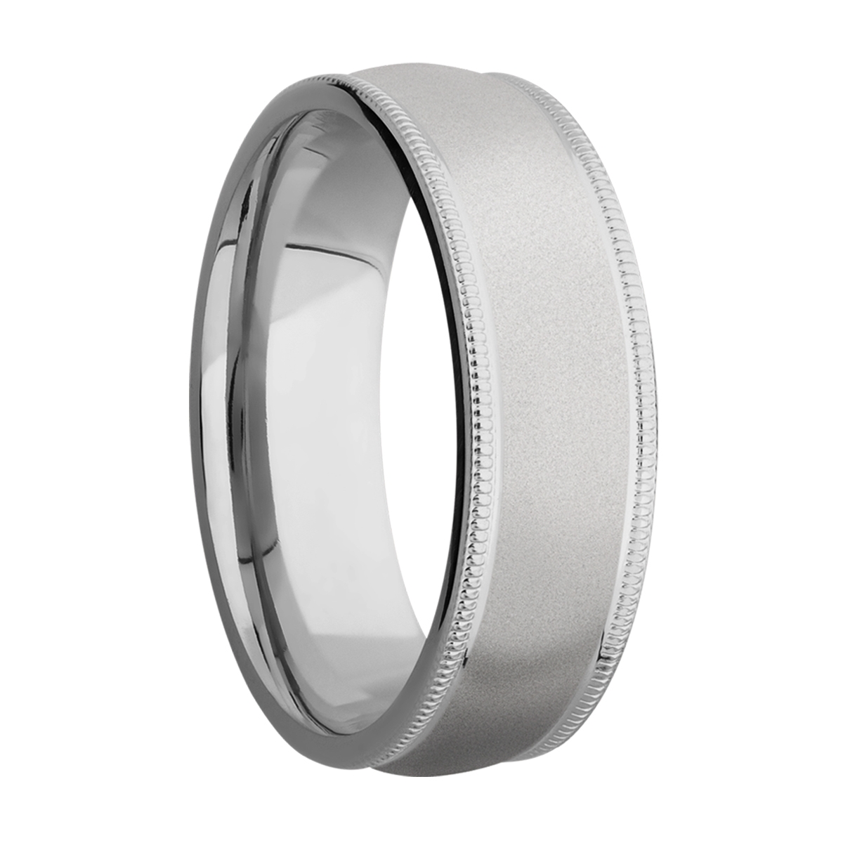 Lashbrook 7DMIL Titanium Wedding Ring or Band Alternative View 1