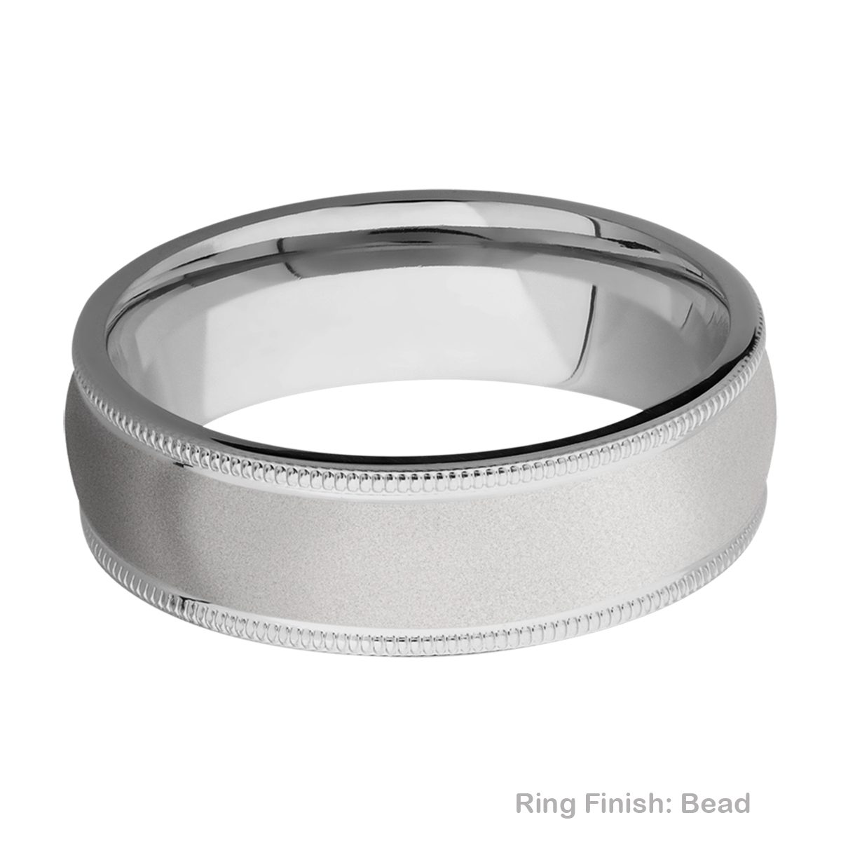 Lashbrook 7DMIL Titanium Wedding Ring or Band Alternative View 2
