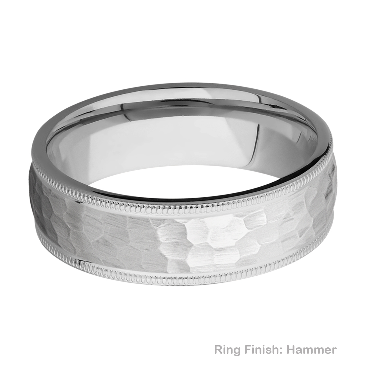 Lashbrook 7DMIL Titanium Wedding Ring or Band Alternative View 8