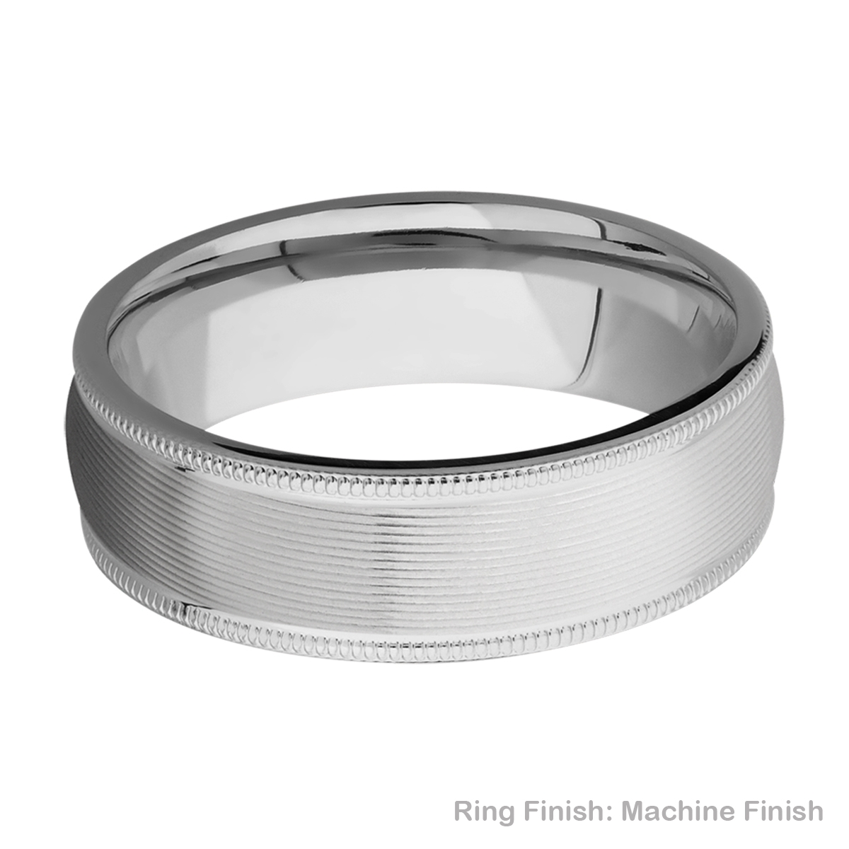 Lashbrook 7DMIL Titanium Wedding Ring or Band Alternative View 12