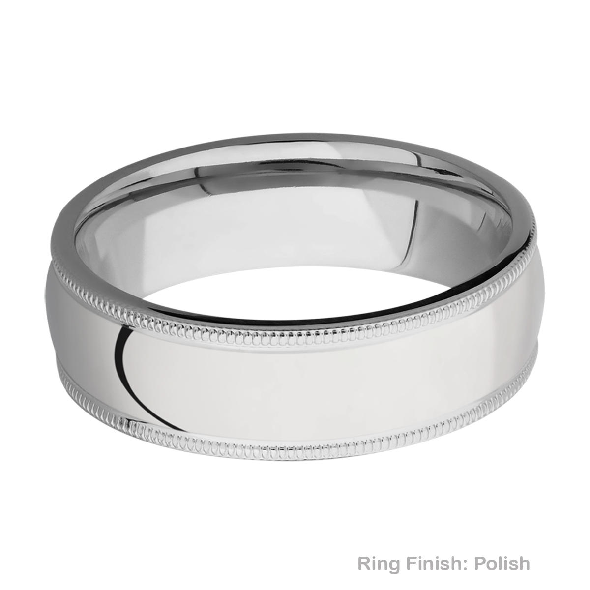 Lashbrook 7DMIL Titanium Wedding Ring or Band Alternative View 3