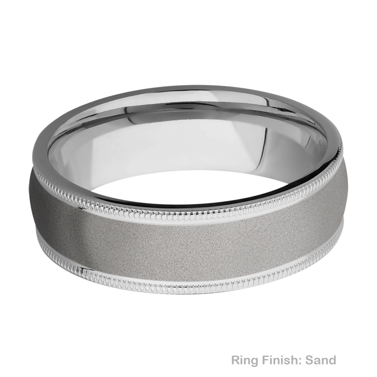 Lashbrook 7DMIL Titanium Wedding Ring or Band Alternative View 4