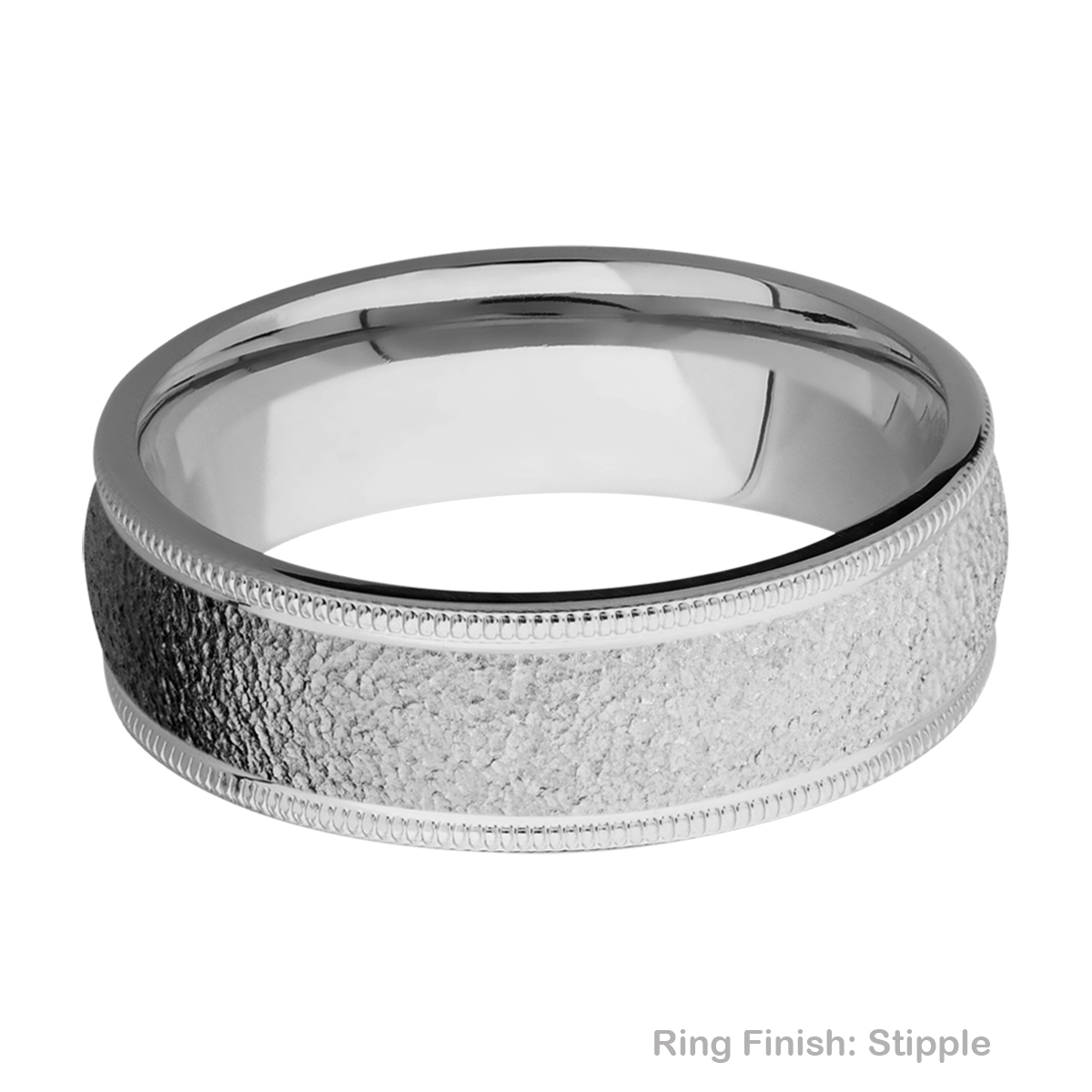 Lashbrook 7DMIL Titanium Wedding Ring or Band Alternative View 11