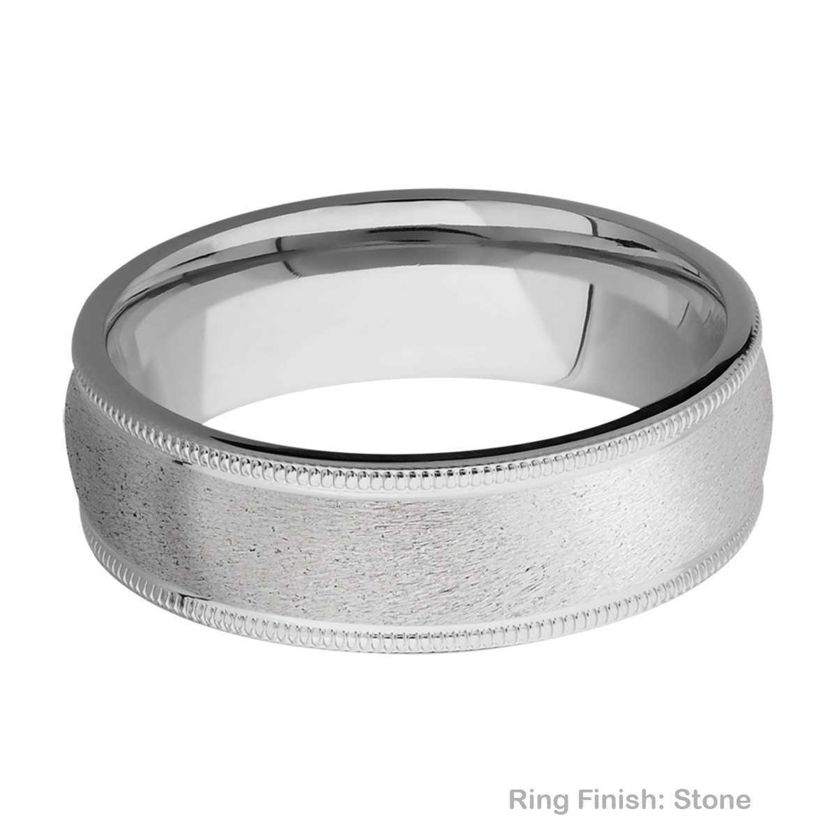 Lashbrook 7DMIL Titanium Wedding Ring or Band Alternative View 6