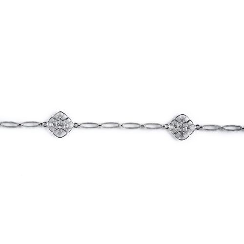 Tacori Diamond Bracelet Platinum Fine Jewelry FB615