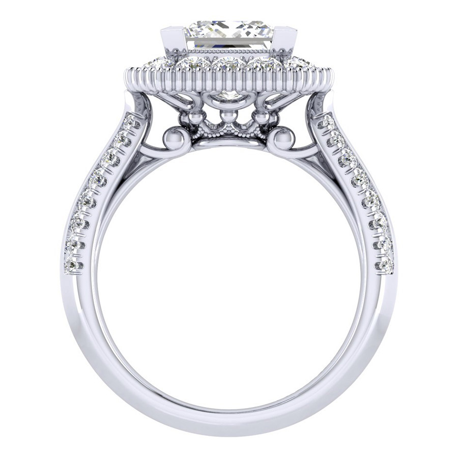 Gabriel 14 Karat Perfect Match Engagement Ring ER002C8ALW44JJ Alternative View 1