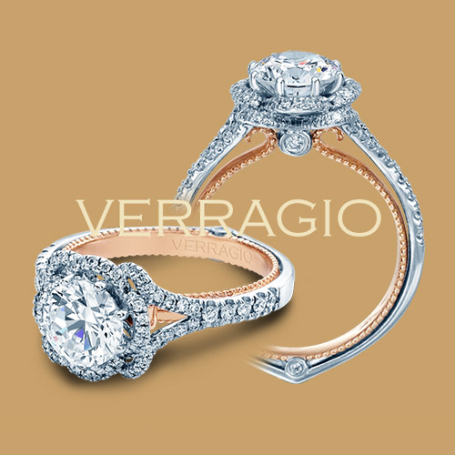 Verragio Couture-0426R-TT 14 Karat Engagement Ring Alternative View 3