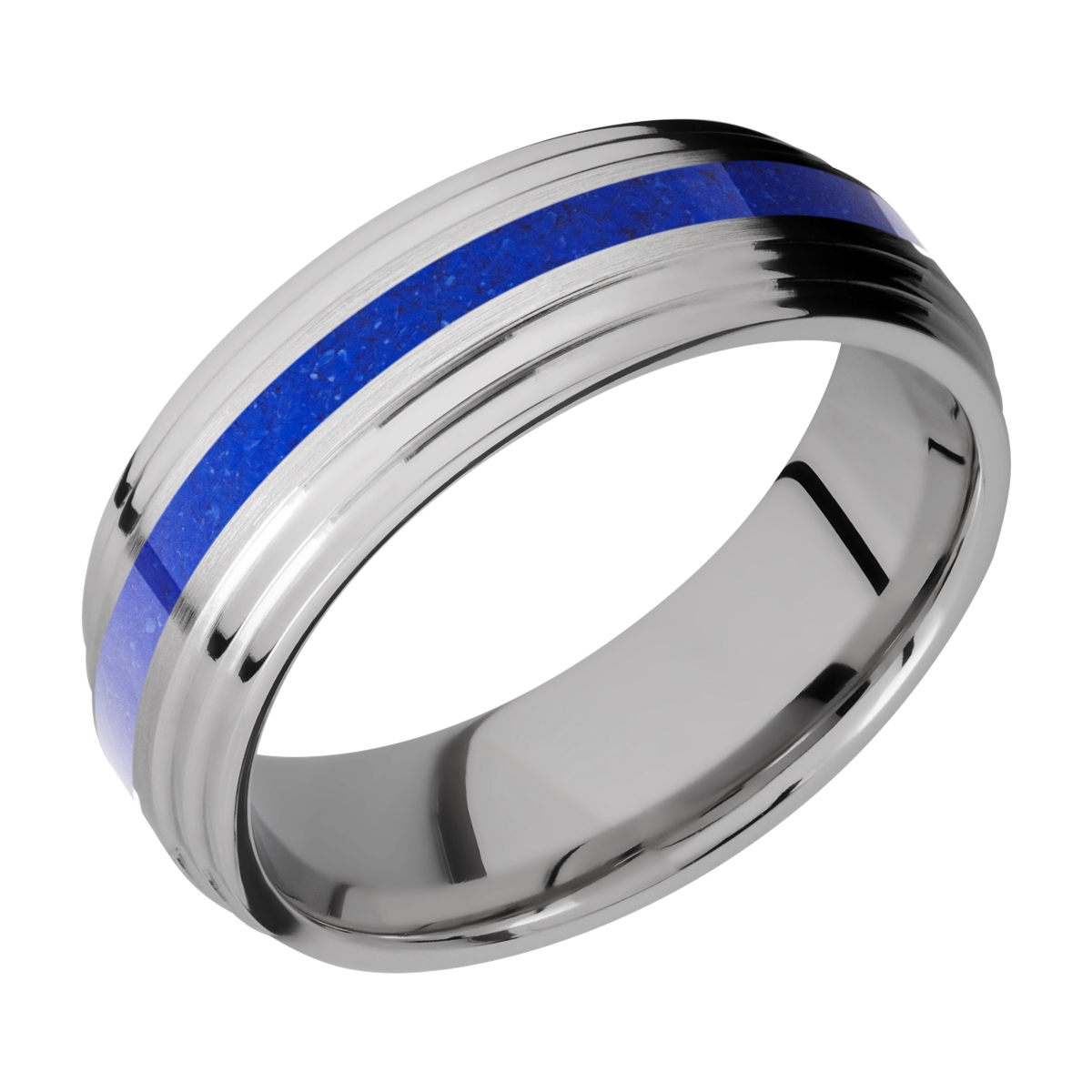 Lashbrook 7F2S12/MOSAIC Titanium Wedding Ring or Band