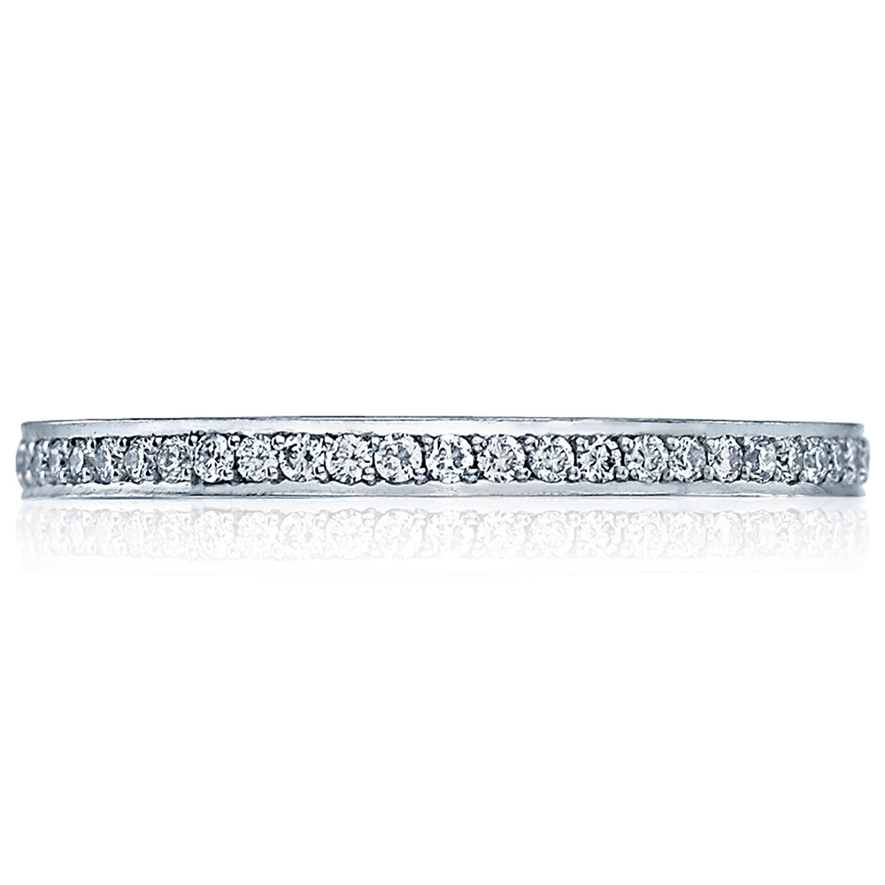 Tacori 2630BSMP 18 Karat Dantela Diamond Wedding Band