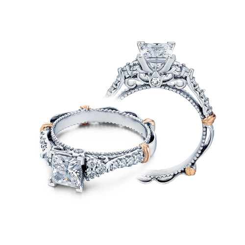 Verragio Parisian-127P Platinum Engagement Ring