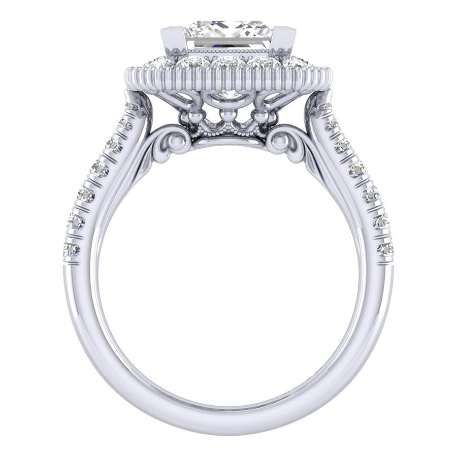 Gabriel 14 Karat Perfect Match Engagement Ring ER039C8ALW44JJ Alternative View 1