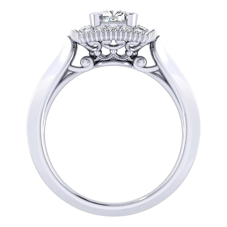 Gabriel 14 Karat Perfect Match Engagement Ring ER001B3AKW44JJ Alternative View 1