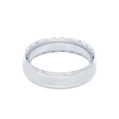 Tacori 18K Eternity Crescent Wedding Band  627R, 627RS, 627RPB