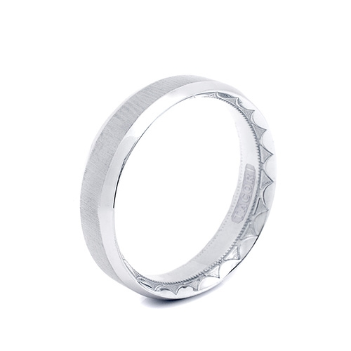 Tacori Platinum Eternity Crescent Wedding Band  627, 627S, 627PB Alternative View 1