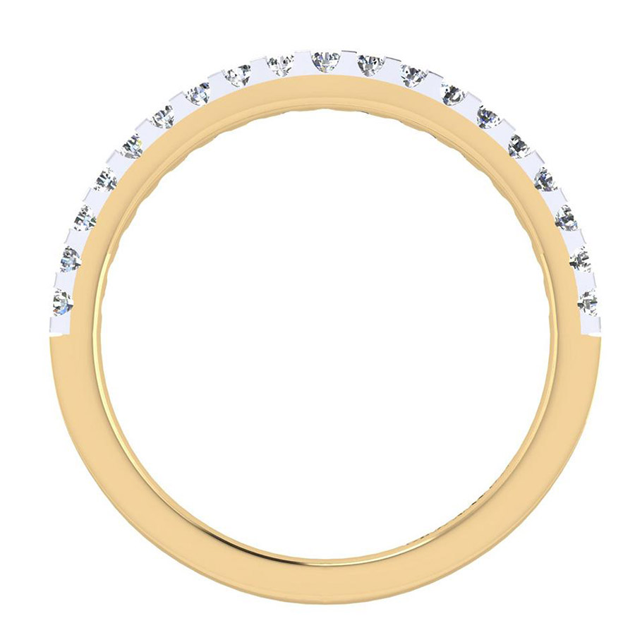 Gabriel 14 Karat Contemporary Wedding Band WB7482M44JJ Alternative View 1