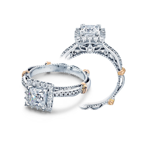 Verragio Parisian-119P Platinum Engagement Ring