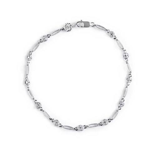 Tacori Diamond Bracelet 18 Karat Fine Jewelry FB614
