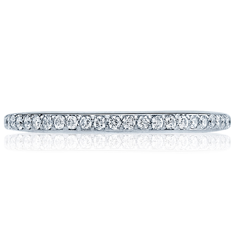 2630BMD Platinum Tacori Dantela Diamond Wedding Ring