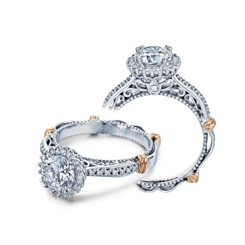 Verragio Parisian-119R Platinum Engagement Ring