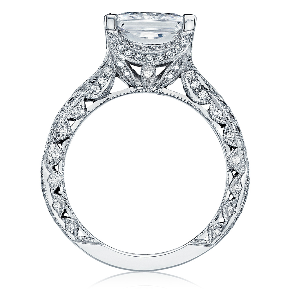 HT2606PR85 Platinum Tacori RoyalT Engagement Ring Alternative View 1