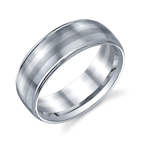 273416 Bauer Palladium Wedding Ring Band