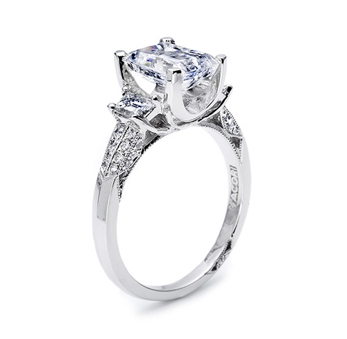 Tacori 18 Karat Simply Tacori Engagement Ring 2579EM85X65 Alternative View 3