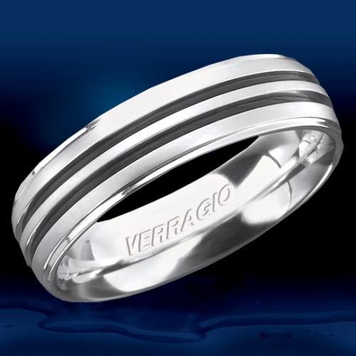 Verragio Palladium In-Gauge Wedding Band RU-6065 Alternative View 1