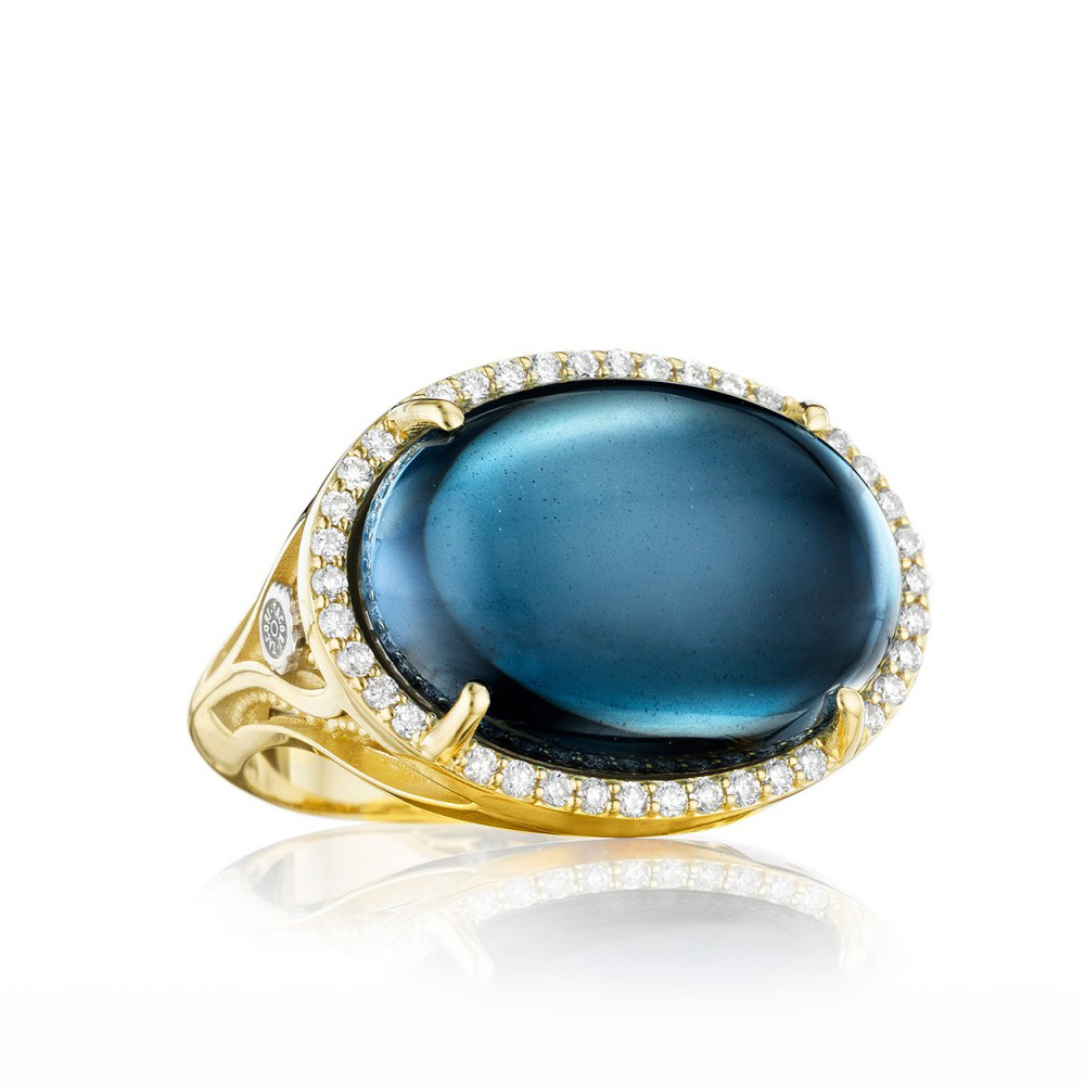 SR187Y37 Tacori Golden Bay  Gold Ring