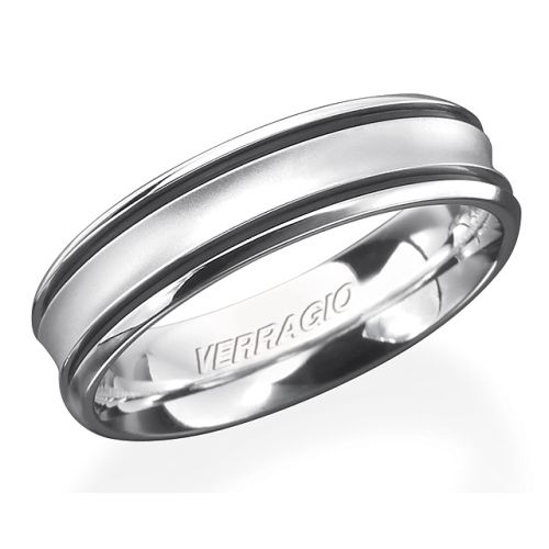 Verragio 14 Karat In-Gauge Wedding Band RU-6070