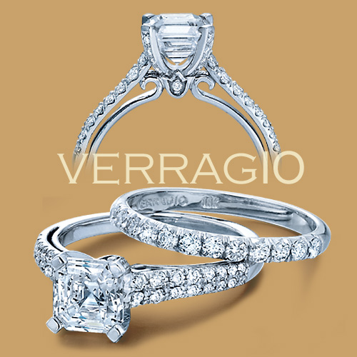 Verragio 18 Karat Couture Engagement Ring Couture-0382 P Alternative View 1